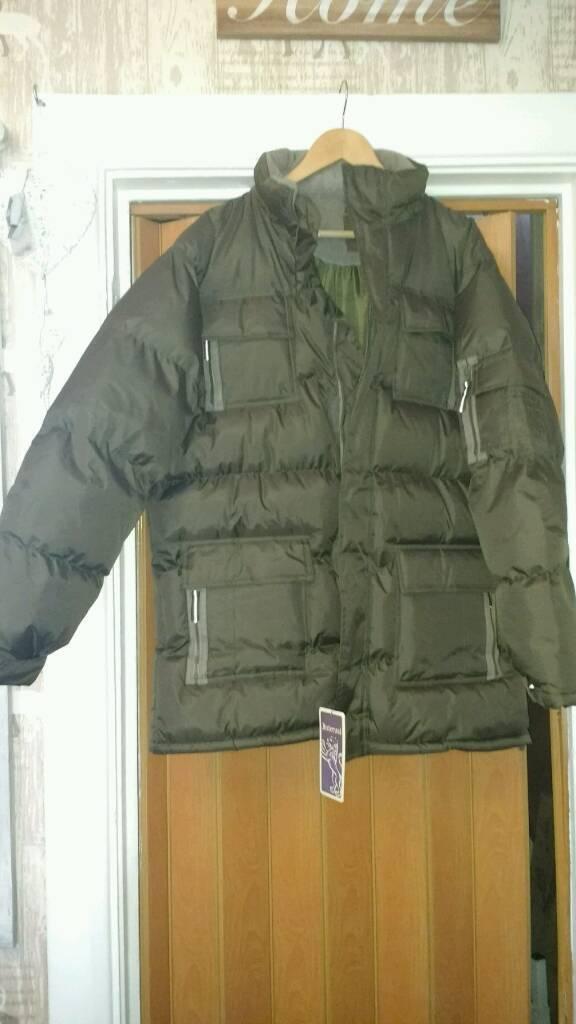 Mens khaki large coat