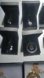 Joblot over 40 necklaces & bracelets all new with gift box