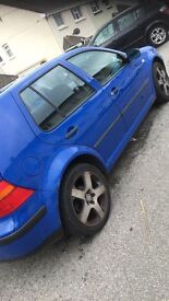 Mk4 golf jazz blue, 1.4 petrol 2000 £575 or sensible offers! Want gone