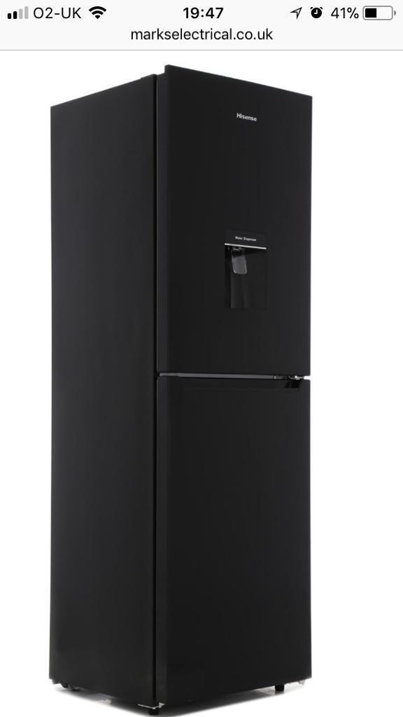 Hi sense fridge freezer