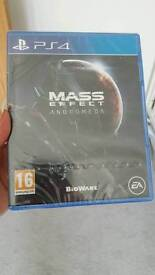 mass effect andromeda brand new in sealed packaging