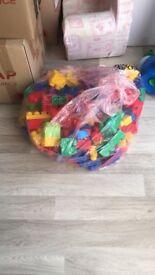 Large lego bricks