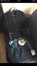 Black Watch Kilt Outfit