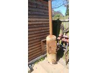 Fire Burner Shed Heater Garden Heater BBQ Sealed Door