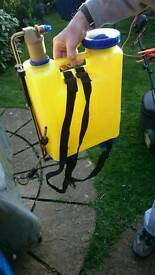 Garden sprayer ie weed control / could be used for fence paint