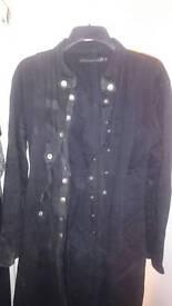 Criminal damage gothic straight jacket