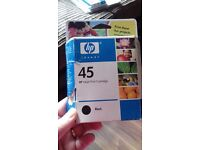 Hp inkjet print cartridge black 45