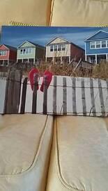 Beach photo canvas