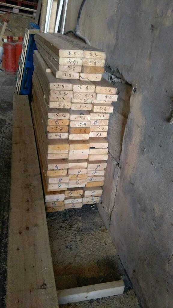 Job lot no 1 of timber