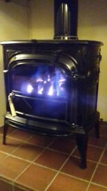 Gas Coal effect Stove
