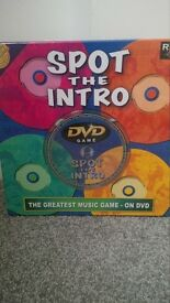 Brand new, sealed Spot the Intro game with DVD