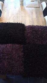 4 Next glitter sofa cushions