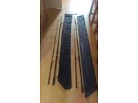 2 x Greys Carp Rods (used)