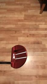 Taylormade TP red half moon putter