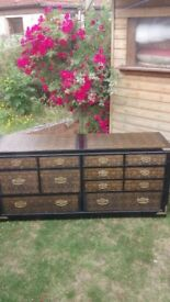 Vintage Chinese/Japanese style large Cabinet, unique new condition £425