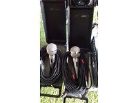 Two Kam karaoke microphone / or general use