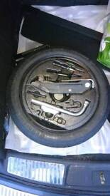 Audi a3 spare wheel and jack