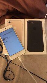 Iphone 7 UBLOCKED, original box, apple receipt and warranty