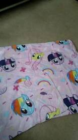 Single size my little pony bedding