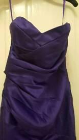 Cadbury purple size 12 dress