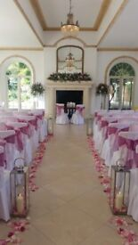 Wedding Event Dressing and Chair Cover Business for sale