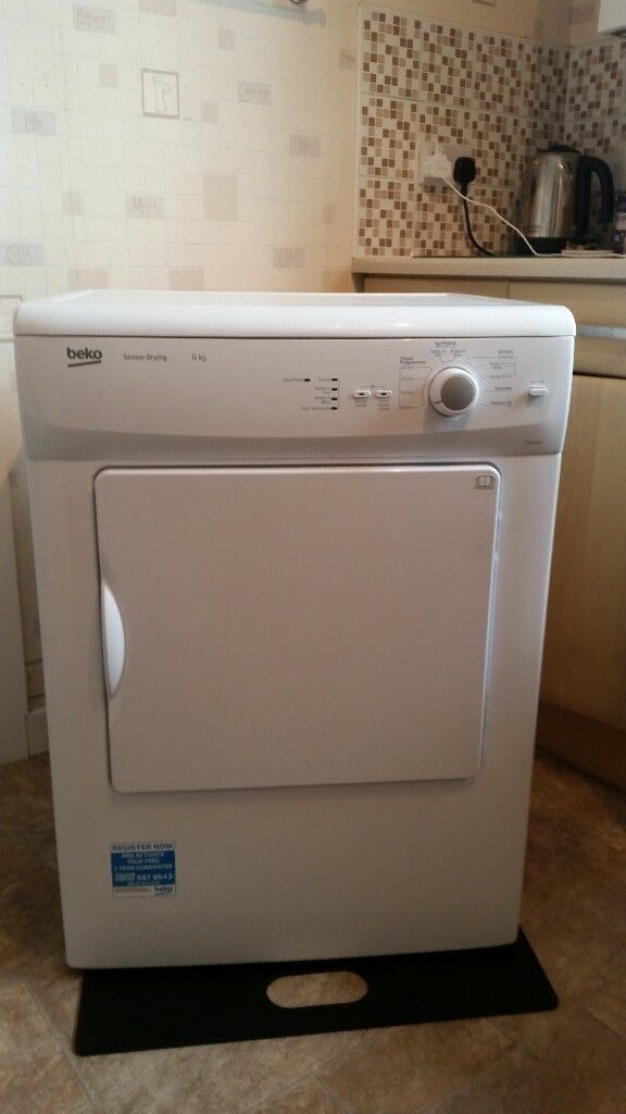 Beko 6kg tumble dryer like new with pipe can deliver for a small charge