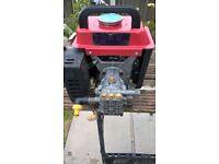 2 Stroke Petrol pressurer washer with hose and lance