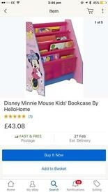 Minnie Mouse children's bedroom bundle