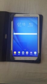 Samaung Galaxy Tab a 16gb Wifi . Protective case . Boxed . In white