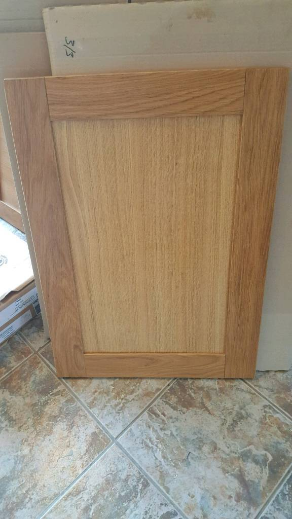 Number Of Solid Oak Kitchen Unit Doors For A Homebase Verona Shaker Style
