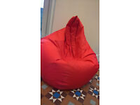 Children's red and green beanbags - bean bag for gaming