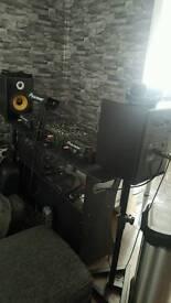 Citronic st8 studio monitor speakers
