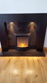 Immaculate Dimplex Fire and Surround.