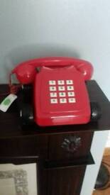 The direct line red car phone great novelty phone and rare in box brand new