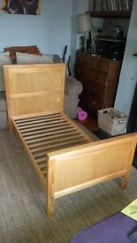Cot bed (Marks and Spencer). Good condition.
