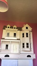 Giant wooden dolls house