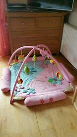 Baby Mat Large (Play and Learn Quilt) Pink