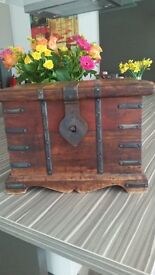 Small Decorative Wooden Chest