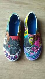 Hand Painted Personalised shoes, any characters