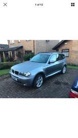 BMW X3 3.0l petrol in gun metal grey