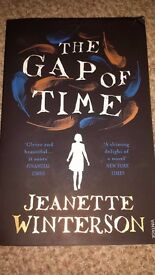The Gap of Time by Jeanette Winterson - Like New!