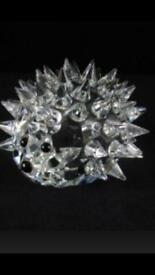 SWAROVSKI CRYSTAL - Large Sized Hedgehog