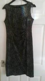 Black and white dress size 14