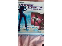 Wii Dance party dance mat with DVD