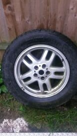 landrover discovery alloy wheel with tyre