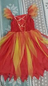 Dress up costume 5-6y