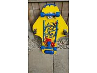 Used once. Stunt skateboard for adults & kids