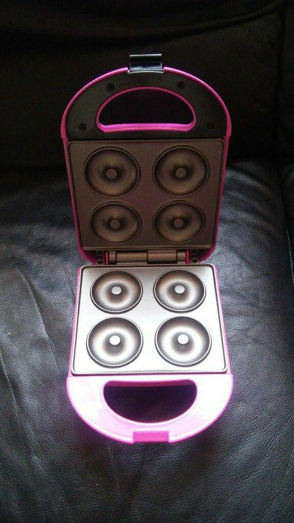 Pretty pink doughnut maker