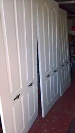Bi-fold bedroom doors