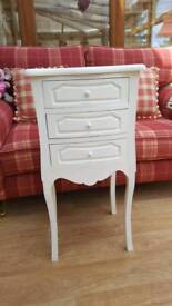 French style bedside cabinet